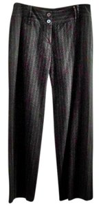 Other Pinstripe Wide Leg Pants striped