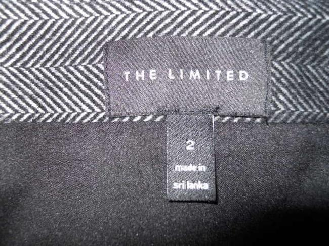 The Limited Mini Skirt black & white