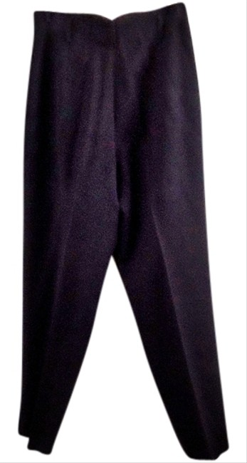 Norma Kamali Wool Lined Relaxed Pants black