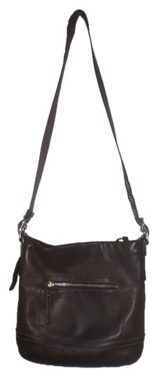 Coach Vintage Leather Shoulder Purse Cross Body Bag