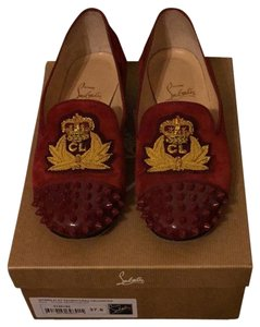 Christian Louboutin Rouge Red Flats