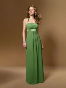Alfred Angelo Pool Halter Style #7016 Dress