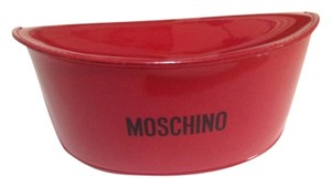 Moschino New Moschino Shiny Red Sunglasses Case