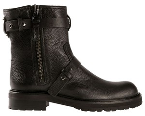 Chuckies Leather Ankle Biker Brown Boots