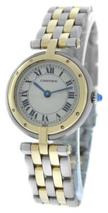 Cartier Cartier Panthere Vendome 2 Tone Gold Steel Quartz Watch