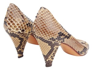 MAUD FRIZON Snakeskin Paris Italy 6 Python Pumps
