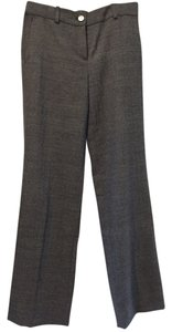 Ann Taylor Wool Trouser Pants Dark Grey Twill