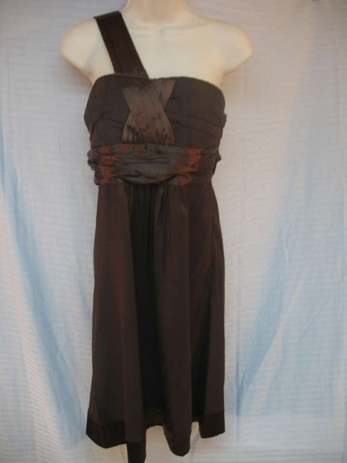 Item - Chocolate Above Knee Cocktail Dress Size 8 (M)