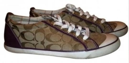 Preload https://item4.tradesy.com/images/coach-purp-khaki-barret-style-sneakers-size-us-95-31113-0-0.jpg?width=440&height=440