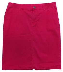 Kim Rogers Skirt Dark Pink/Strawberry Red