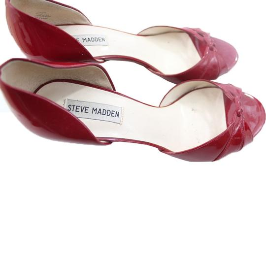 Steve Madden Red Sandals