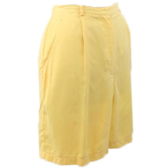 Willi Smith Yellow Shorts