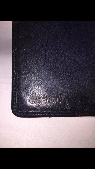 Chanel CHANEL kidglove leather FLAP WALLET checkbook cover