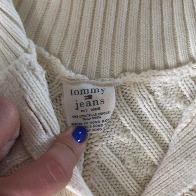 Tommy Hilfiger Cable Poncho Knit Comfortable Winter Sweater