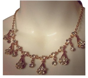 New Necklace set gold tone Necklace