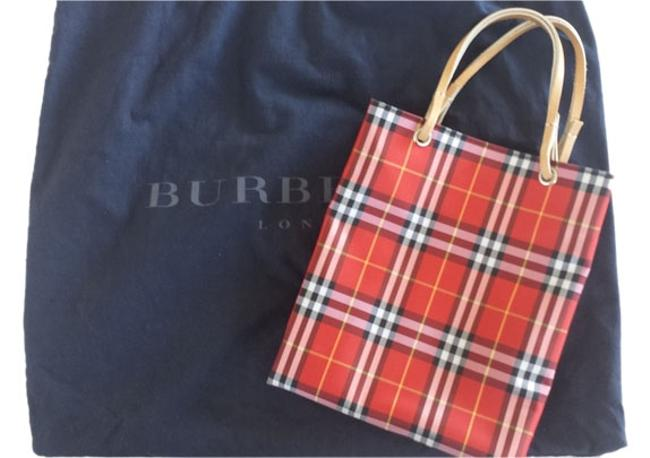 Item - Red Checkers Canvas Tote