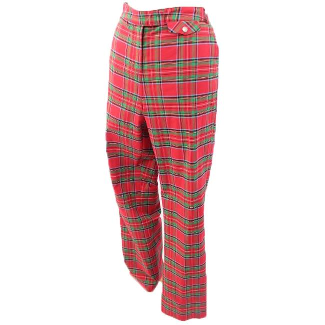 Lilly Pulitzer Woman Designer Relaxed Pants Multicolor Tartan Check