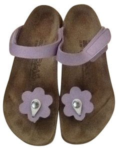 Birki's Lavender trim Sandals