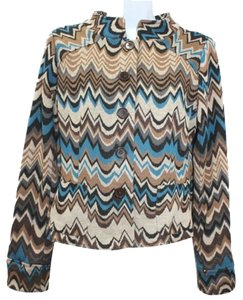 ECI New York Multicolor Knit Blazer