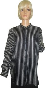 Ralph Lauren Button Down Shirt BLACK & WHITE