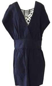 Mango short dress Navy Blue on Tradesy