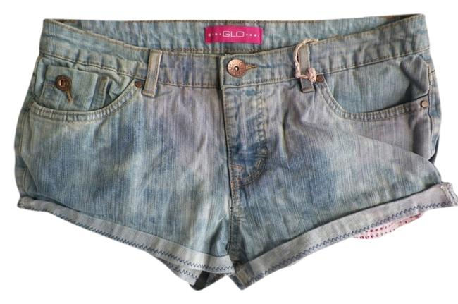 Preload https://item4.tradesy.com/images/custom-hand-altered-eco-green-wear-cut-off-denim-jean-cut-off-shorts-3114043-0-0.jpg?width=400&height=650