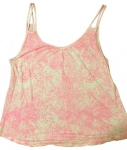 Old Navy Top Hot pink and white