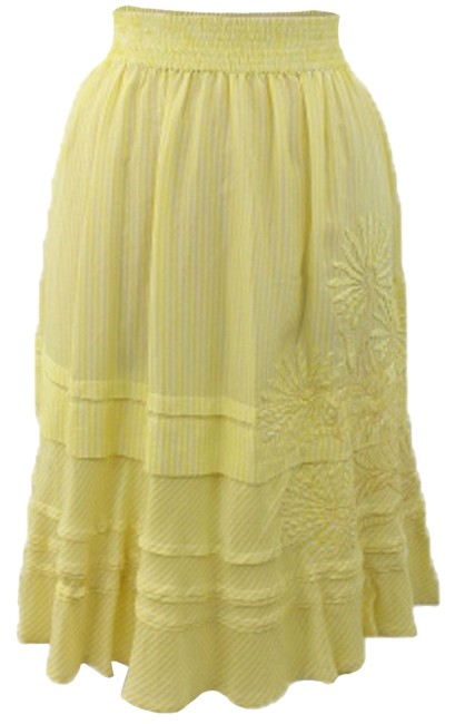 DKNY Skirt Yellow