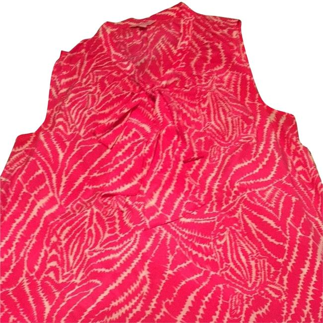 Lilly Pulitzer Top Pink & White