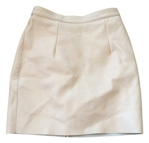 American Apparel Mini Skirt Nude