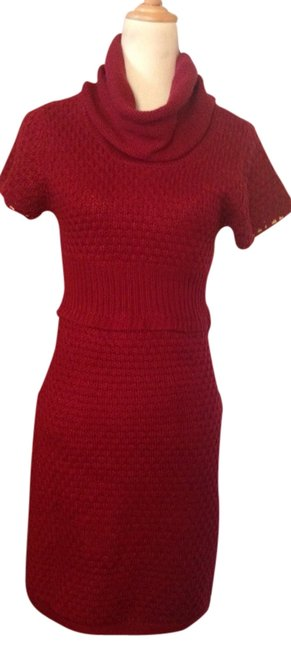 Preload https://item2.tradesy.com/images/tulle-red-sexy-sweater-short-casual-dress-size-12-l-3114631-0-0.jpg?width=400&height=650