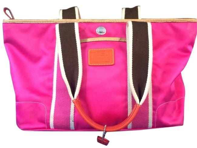 Item - Hot Pink Satin Tote