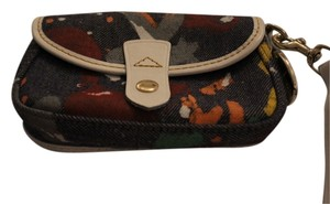 Dooney & Bourke Dooney & Bourke Denim Flap Wristlet