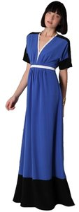 Blue Maxi Dress by Sachin + Babi Designer