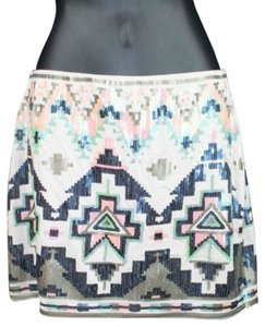 Express Embellished Mini Skirt
