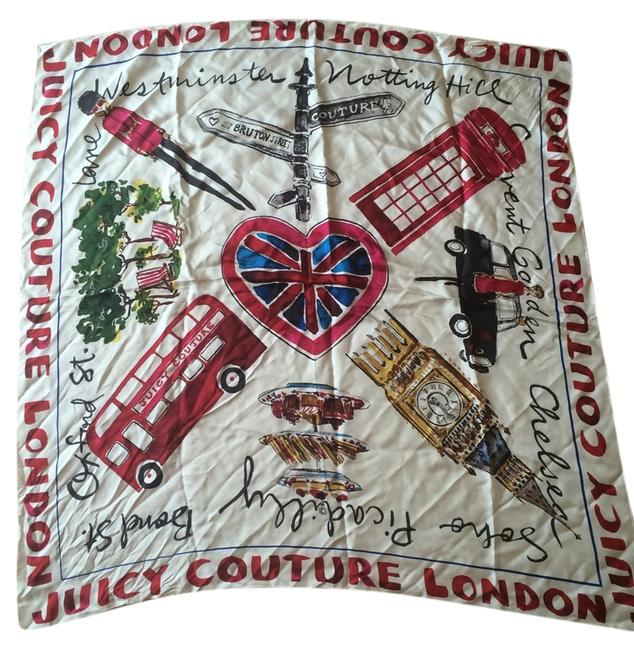 Item - Multicolor London Silk Square Scarf/Wrap