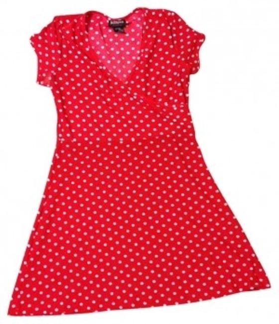 Preload https://item1.tradesy.com/images/hot-tempered-red-with-white-polka-dots-fun-retro-above-knee-short-casual-dress-size-12-l-31150-0-0.jpg?width=400&height=650