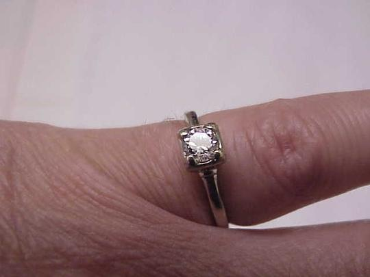Other Vintage 14k white gold .50ct brilliant cut diamond Ring