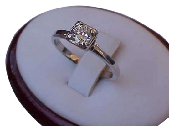 Preload https://item2.tradesy.com/images/white-vintage-antique-14k-gold-with-50ct-brilliant-cut-diamond-ring-311521-0-0.jpg?width=440&height=440