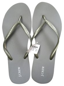J.Crew Light Grey Sandals