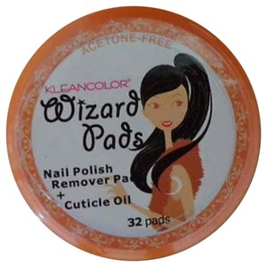 Other 1 Piece Kleancolor Wizard Acetone-Free Nail Polish Remover Pads