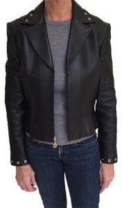 St. John Leather Leather Jacket