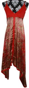 Red Maxi Dress by Magazine