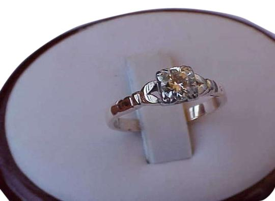 Vintage 14k Yellow Gold Engagement Ring with .50ct diamond