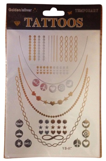 Preload https://item1.tradesy.com/images/other-gold-silver-metallic-flash-temporary-tattoo-1-sheet-3115825-0-0.jpg?width=440&height=440