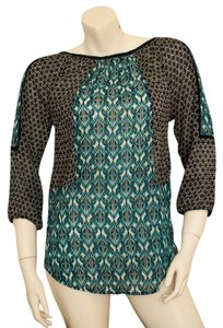 Lucky Brand Boho Bohemian East Indian Tunic