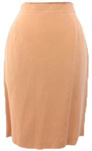 Rena Rowan Woman Designer Skirt Peach Color