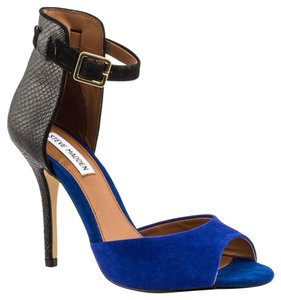 Steve Madden Colorblock Blue Royalblue Sandals