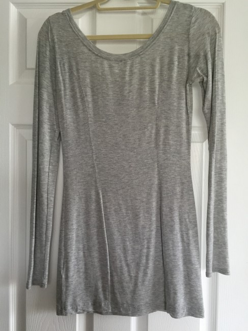 Club Monaco T Shirt Light Grey