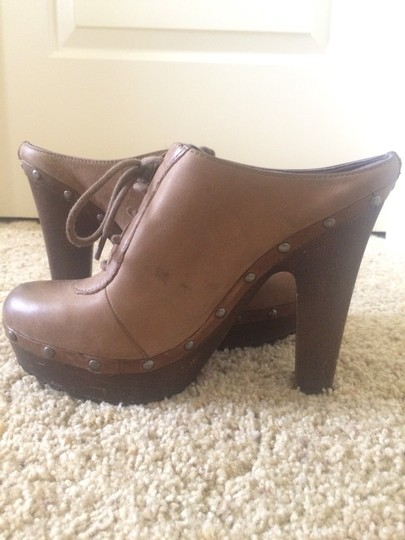 Sam Edelman Light Brown Platforms